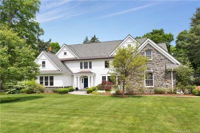 Darien Single Family Home For Sale: 19 Saint Nicholas Road