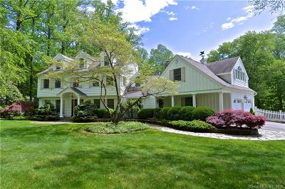 Ridgefield Single Family Home For Sale: 6 North Valley Road