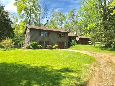 Windham County Single Family Home For Sale: 89 North Society Road