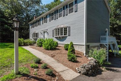 Hebron Single Family Home For Sale: 82 Niles Road