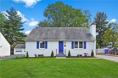 Wethersfield Single Family Home For Sale: 81 Belcher Road