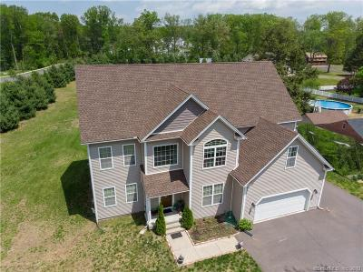 South Windsor Single Family Home For Sale: 418 Pleasant Valley Road
