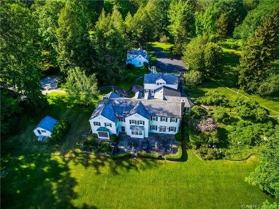 Weston Single Family Home For Sale: 177 Good Hill Road