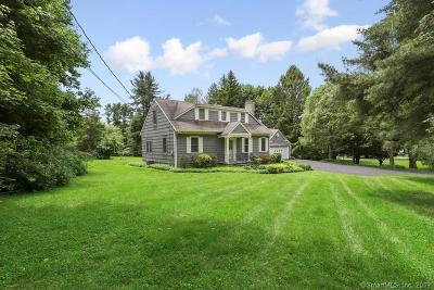 Wilton Single Family Home For Sale: 229 Dudley Road