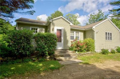 Woodstock Single Family Home For Sale: 393 Barlow Cemetery Road