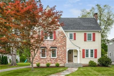 West Hartford Single Family Home For Sale: 168 Four Mile Road