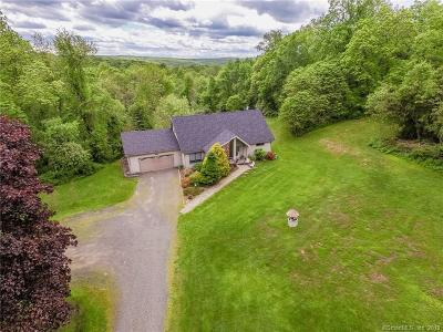Southbury Single Family Home For Sale: 196 Brown Brook Road