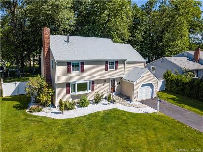 Wethersfield Single Family Home For Sale: 169 Dudley Road