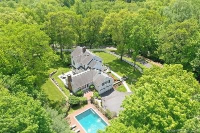 Wilton Single Family Home For Sale: 22 Edgewater Drive