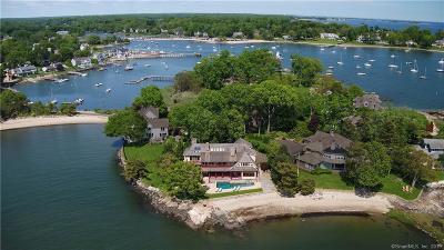 Darien Single Family Home For Sale: 8 Pratt Island