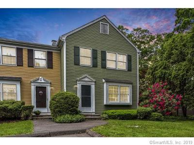 New Canaan Condo/Townhouse For Sale: 86 Hoyt Street #86