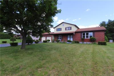 South Windsor Single Family Home For Sale: 48 Jessica Drive