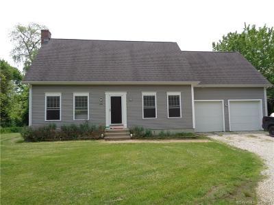 Stonington Single Family Home For Sale: 143 Hewitt Road