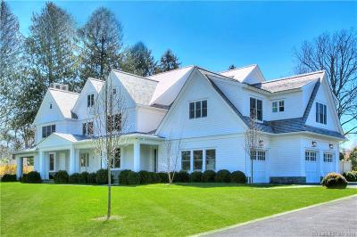 Westport CT Single Family Home For Sale: $3,950,000