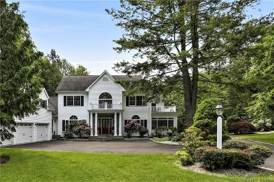 Ridgefield Single Family Home For Sale: 383 West Lane