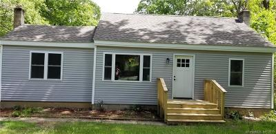 Coventry Single Family Home For Sale: 2544 Main Street