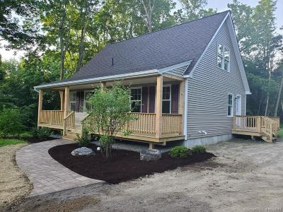 Coventry Single Family Home For Sale: 943 Main Street