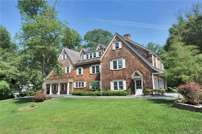 New Canaan Single Family Home For Sale: 20 Hawks Hill Road