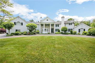 Darien Single Family Home For Sale: 80 Talmadge Hill Road