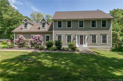 Tolland Single Family Home For Sale: 160 Grahaber Road