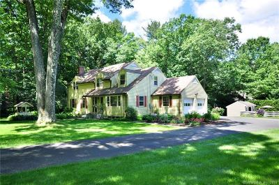 Simsbury Single Family Home For Sale: 68 Holcomb Street