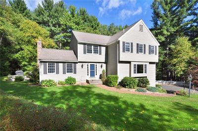 Simsbury Single Family Home For Sale: 10 Browngate Lane