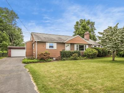 Wethersfield Single Family Home For Sale: 40 Cottwell Drive