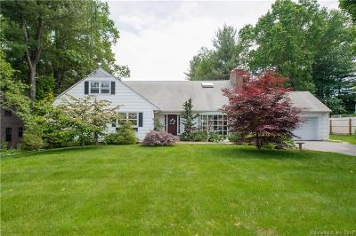 West Hartford Single Family Home For Sale: 25 Long View Road