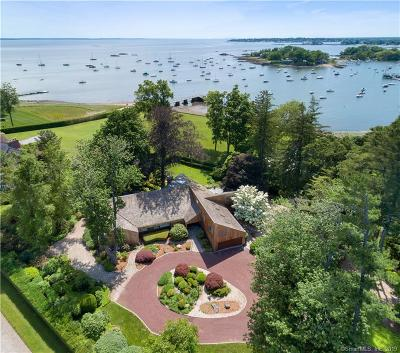 Darien Single Family Home For Sale: 159 Pear Tree Point Road
