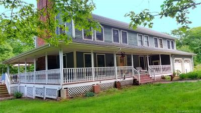 Ledyard Single Family Home For Sale: 1898 Center Groton Road