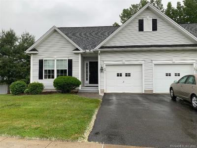 Southington Condo/Townhouse For Sale: 56 Brookview Place #56
