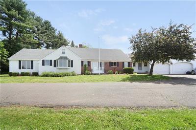 Suffield Single Family Home For Sale: 1680 Mapleton Avenue