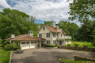 New Canaan Single Family Home For Sale: 29 Myanos Road