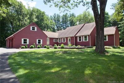 Simsbury Single Family Home For Sale: 4 Hamilton Lane