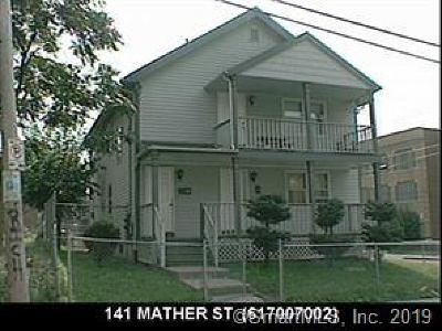 Hartford Multi Family Home For Sale: 141 Mather Street