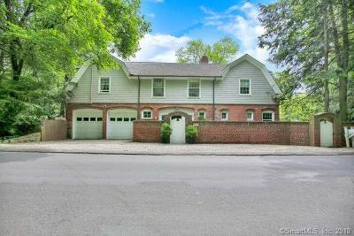 New Canaan Single Family Home For Sale: 747 Valley Road