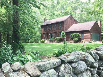 Stonington Single Family Home For Sale: 116 Barnes Road