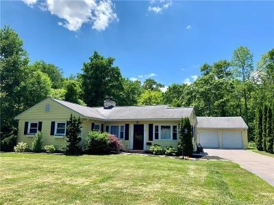 West Hartford Single Family Home For Sale: 15 Selden Hill Drive
