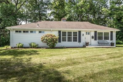 Wethersfield Single Family Home For Sale: 6 Forest Drive