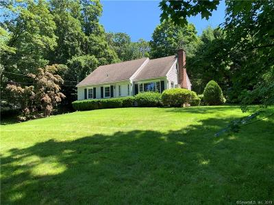 New Canaan Single Family Home For Sale: 37 Weed Street