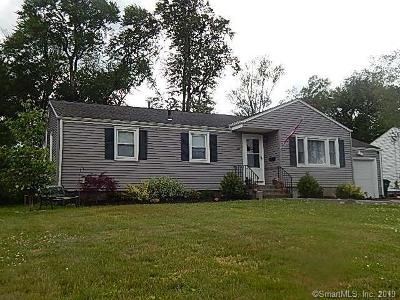 Wethersfield Single Family Home For Sale: 142 Dix Road