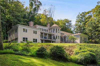 New Canaan Single Family Home For Sale: 628 Valley Road