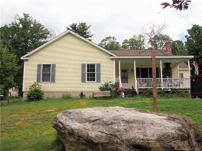 Worcester County, Providence County, Windham County Single Family Home For Sale: 47 Nyberg Road