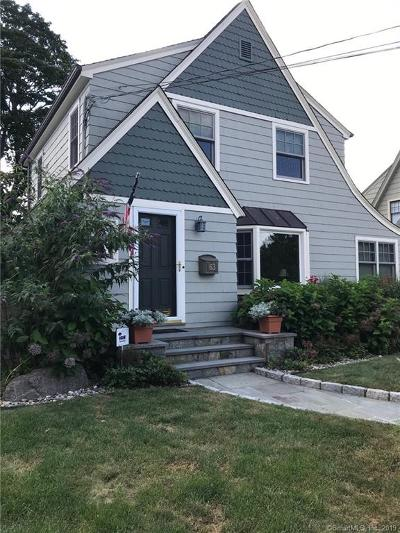 Norwalk Single Family Home For Sale: 63 Quintard Avenue