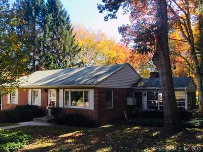 Wolcott Single Family Home For Sale: 27 Longmeadow Drive