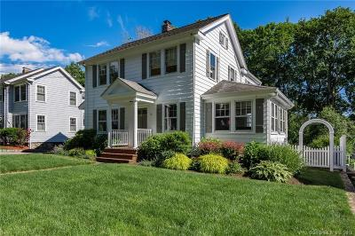 Darien Single Family Home For Sale: 60 Middlesex Road