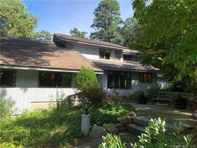 Glastonbury Single Family Home For Sale: 181 Shoddy Mill Road