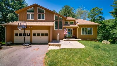 Tolland Single Family Home For Sale: 43 Lakeview Heights