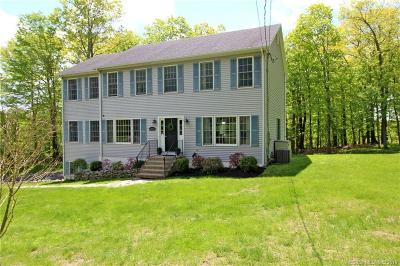 Danbury Single Family Home For Sale: 69 Old Ball Pond Road