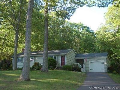 Tolland Single Family Home For Sale: 115 Virginia Lane